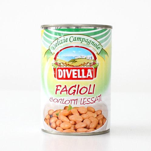 Italian Borlotti beans- Divella- 400 gr