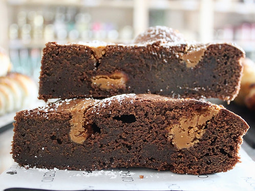 Brownie with BISCOFF