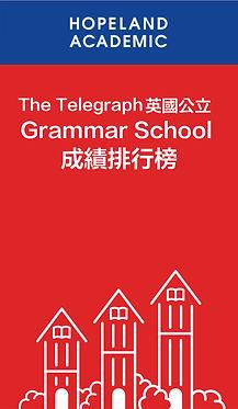 The telegraph 英國公立 Grammar School 成績排名榜