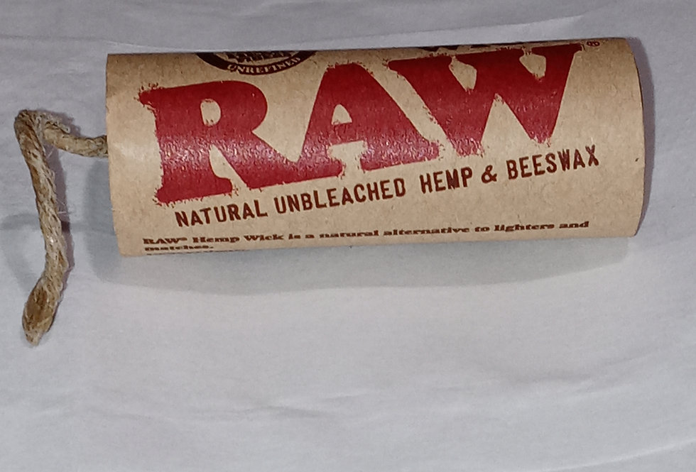 Raw Hemp Wick - 20ft