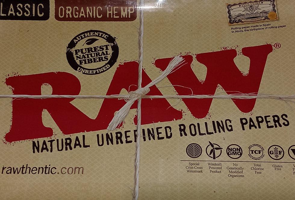 Tin Raw Rolling Tray - 7in x 11in