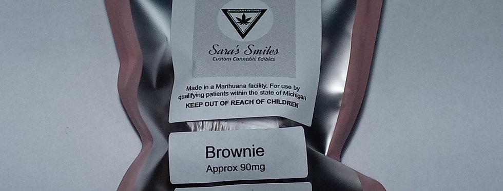 Sara's Smiles - Brownie (approx. 90 mg )