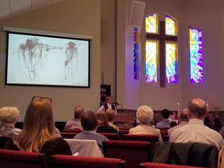 Rev. Kelly Bayer Derrick Preaching