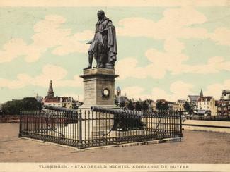 Kanonaffuiten op de Boulevard en bij standbeeld Michiel de Ruyter worden gerestaureerd.