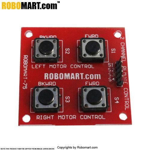 2 Channel Remote Control Board
