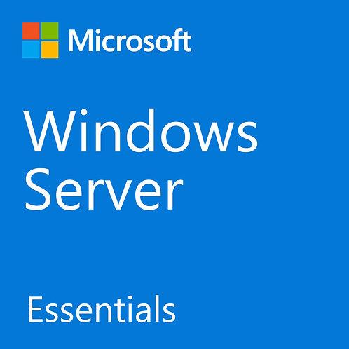 Microsoft®WindowsServerEssentials AllLng License/SoftwareAssurancePack MVL 1Lice