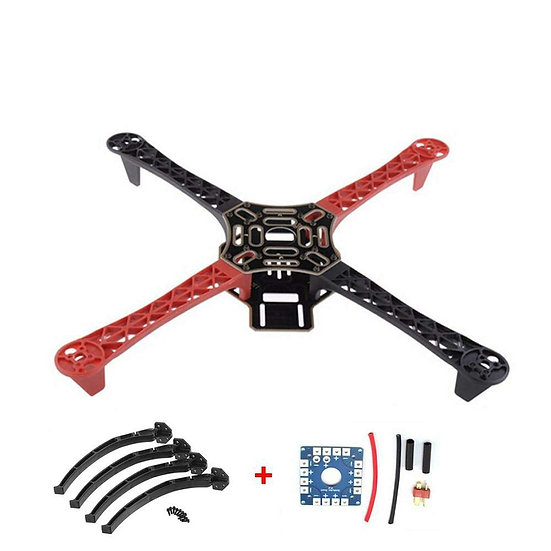 SunRobotics F450 Drone with Camera FlameWheel KIT 450 Frame for RC MK MWC 4 Axis