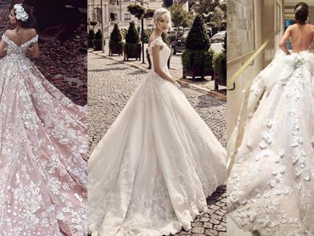 6 types différents de robes de mariée