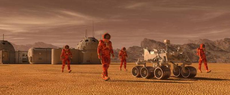 Life On Mars Camp for kids