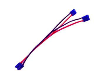 L-002 Battery Harness For 2 Packs in Parallel 14AWG silicone wire L=20CM