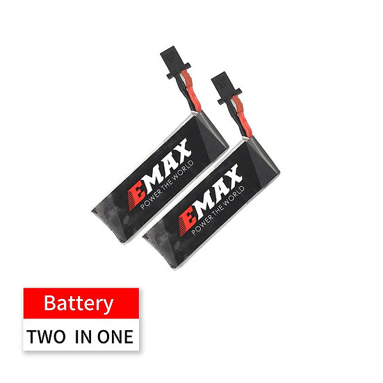 Nanohawk Spare Parts - 2in1 4.35HV 1S 300mAh 80C Lipo Battery for Nanohawk