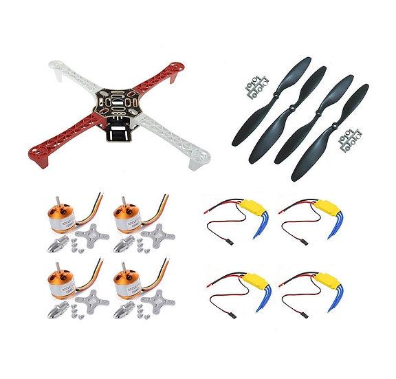 OLatus OL-Quadcopter-Mini01 F450 Quadcopter Frame Kit with 4x A2212 KV1000 Brush