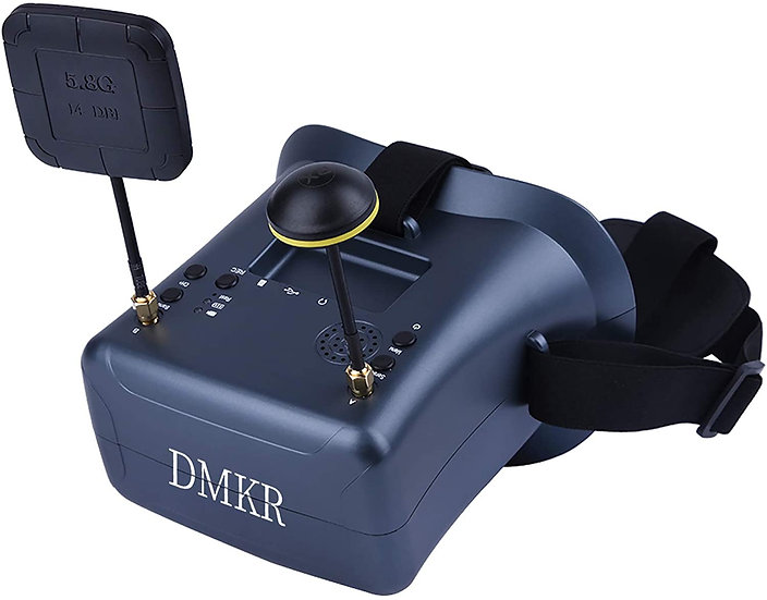 DMKR 008DPro FPV Goggles with DVR 5.8G 40CH 4.3 Inch 800x480 HD Video Headset