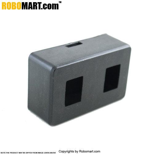 2 Switch Box Plastic DPDT
