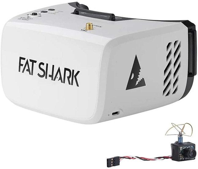 Fat Shark Recon V3 DVR Goggles and Ultra Micro Camera(Builtin 5G8 25mW