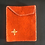 Thumbnail: Felt Hand Embroidered Wallet