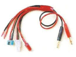 K-026 4.0mm to Deans-MPX-Tamia-extra 16AWG silicone L=45CM