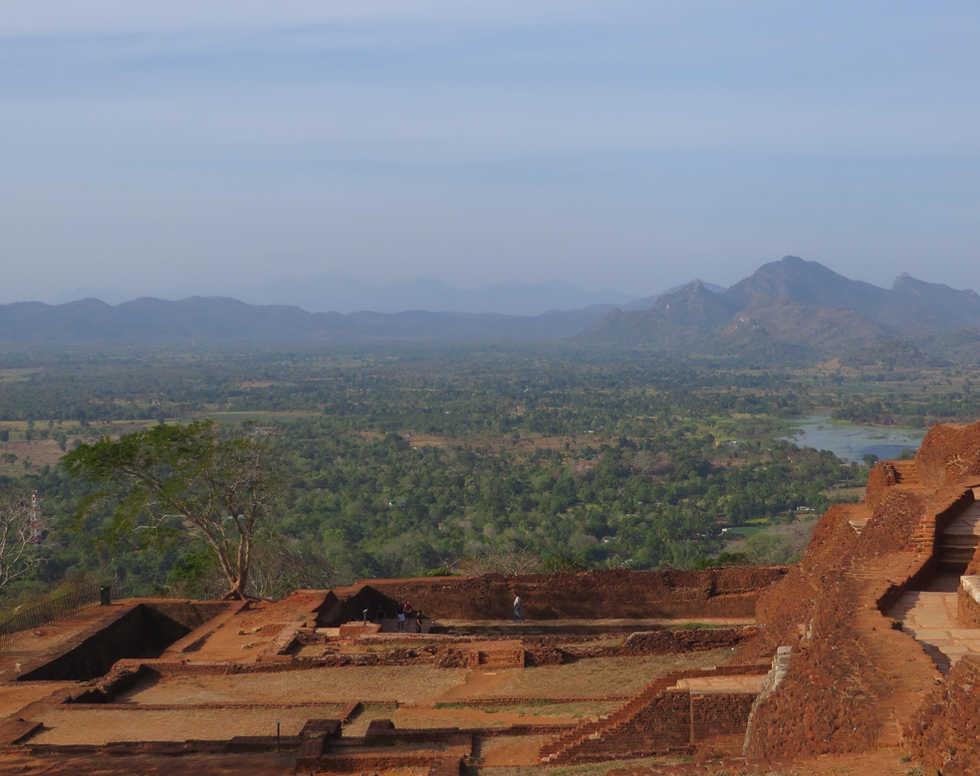 On the Top of Sigiriiya