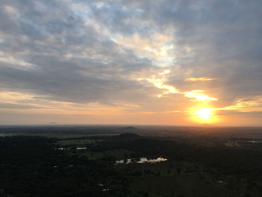 Sunrise at Mihintale