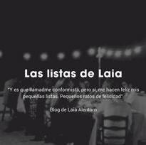 LAS LISTAS DE LAIA