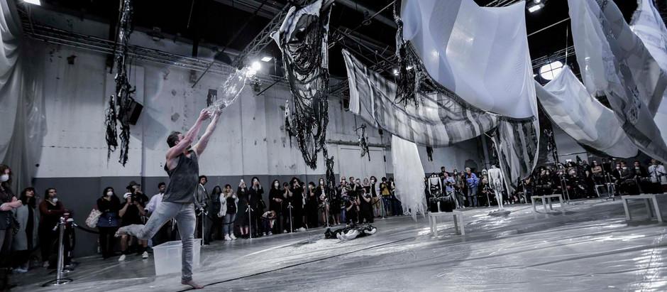 Jef Montes - Tormenta - Amsterdam Fashion Week (live soundscape)