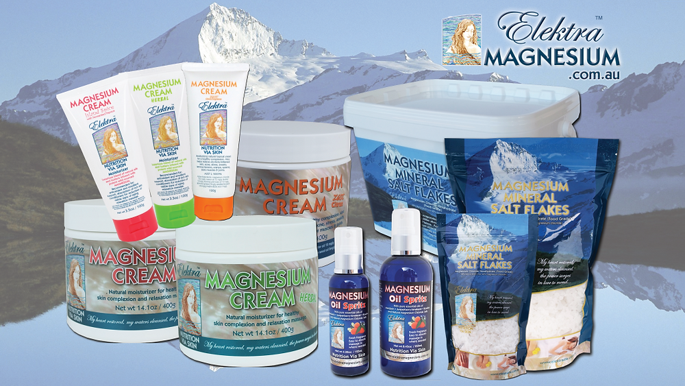 Magnsium Chloride Flakes, Moisturising Creams & Spritz Oil