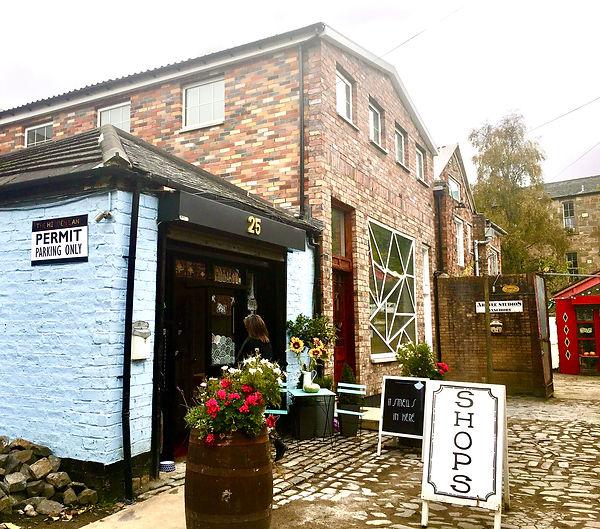 the hidden lane glasgow mercat house studio 2 claed