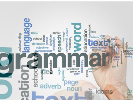 How To Improve Your Grammar Skills