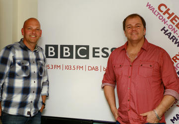 Kevin Barry & Steve Cherelle At BBC