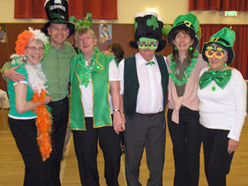 Footstep's St Patricks Party