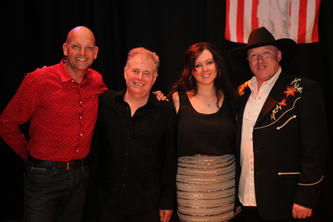 Kevin, Cliff Hayden, Maria & Rob Brentwood Theatre