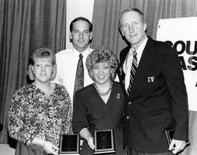 New Dawn Award With George Hamilton IV