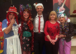 Kevin Barry At Footsteps Christmas 2012