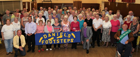 Kevin Barry At Daniel's Footsteps Club