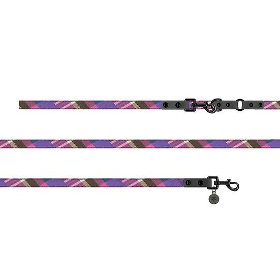 Puppy Bow Grey Smart Lead