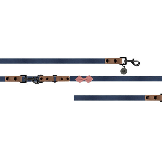 Nautical Bow Lead Navy