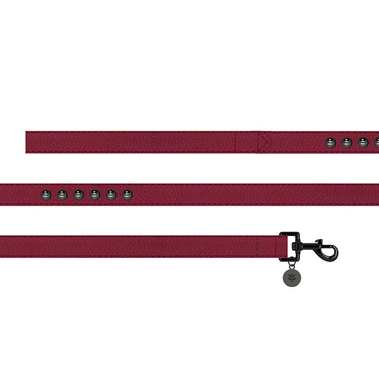 Oxblood Studded Lead