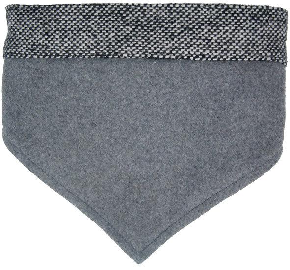 Grey Tweed Neckerchief