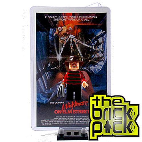 NIGHTMARE ON ELM STREET COLLECTOR DISPLAY