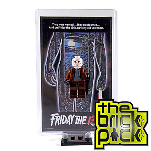FRIDAY THE 13TH COLLECTOR DISPLAY