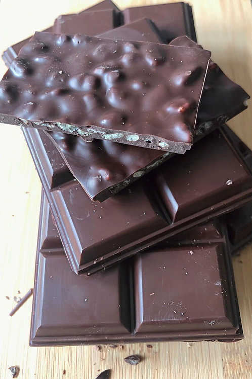 Dark Flavoured Belgian Chocolate Bars