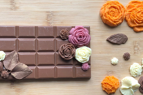 Mother's Day Flower Chocolate Bar