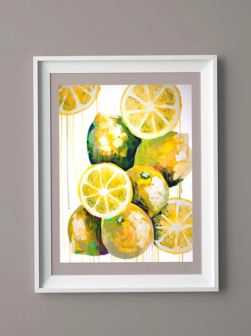 Limited Edition Print: Lemons