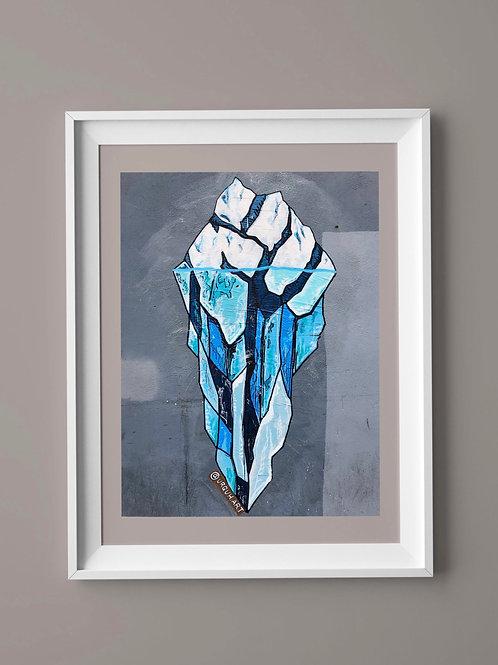 Limited Edition Print: Iceberg Fist
