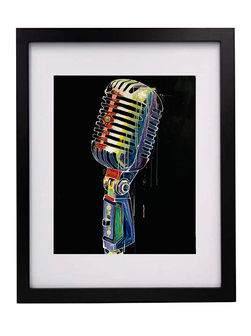 Limited Edition Print: Condenser Mic