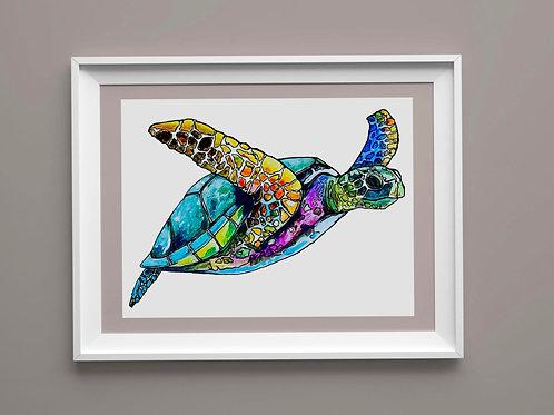 Limited Edition Print: Sea Turtle