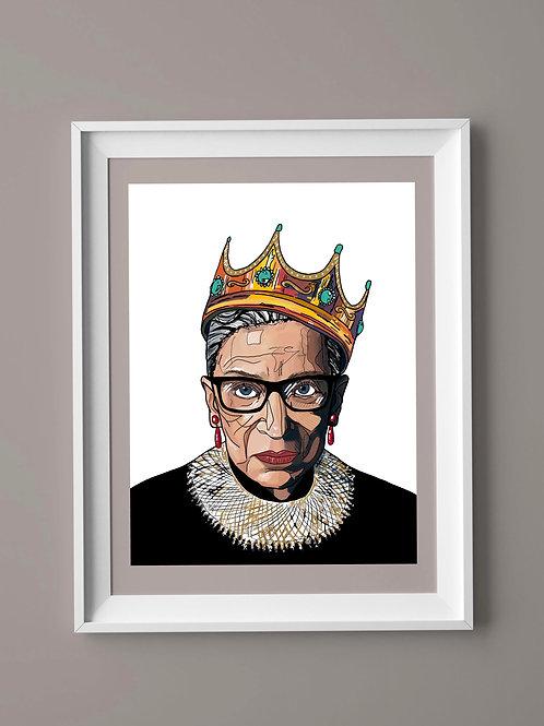 Limited Edition Print: Ruth Bader Ginsburg