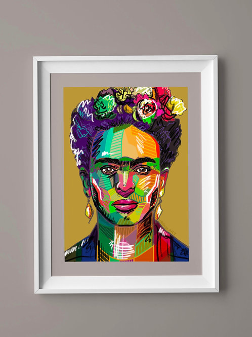 Limited Edition Print: Frida Kahlo