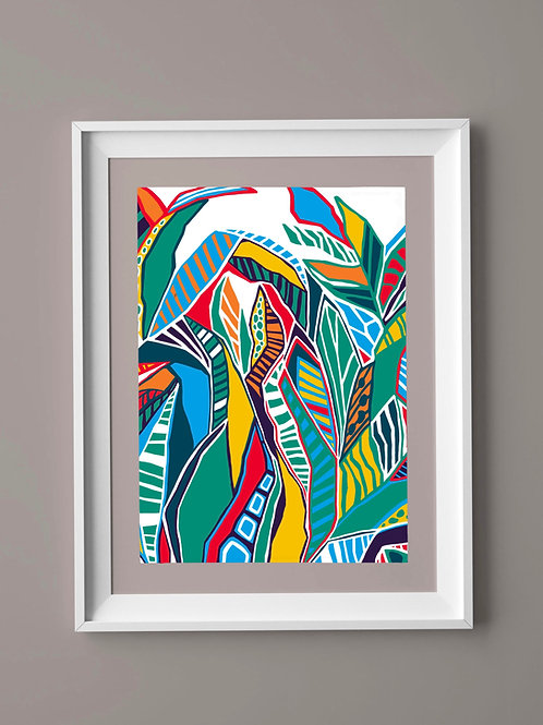 Limited Edition Print: Tropical Jungle
