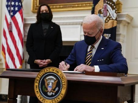 El presidente Joe Biden dio a conocer un amplio plan de inmigración poco después de asumir el cargo